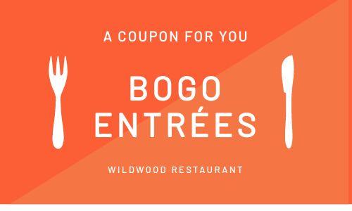 BOGO Coupon Card