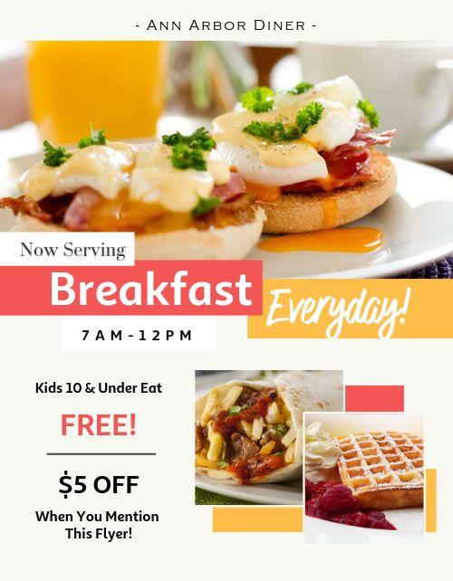 Breakfast Brunch Flyer