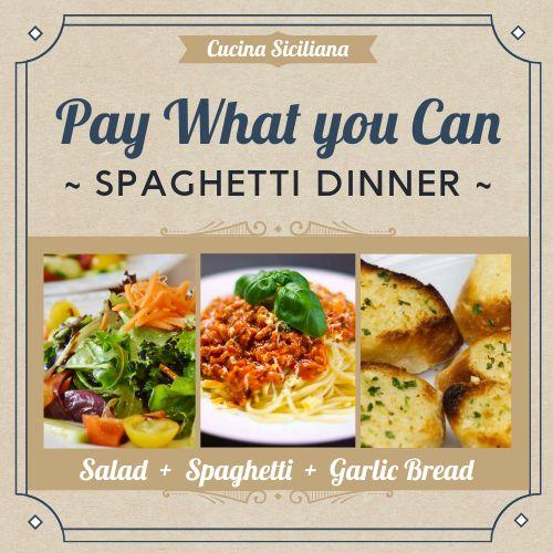 Spaghetti Instagram Post