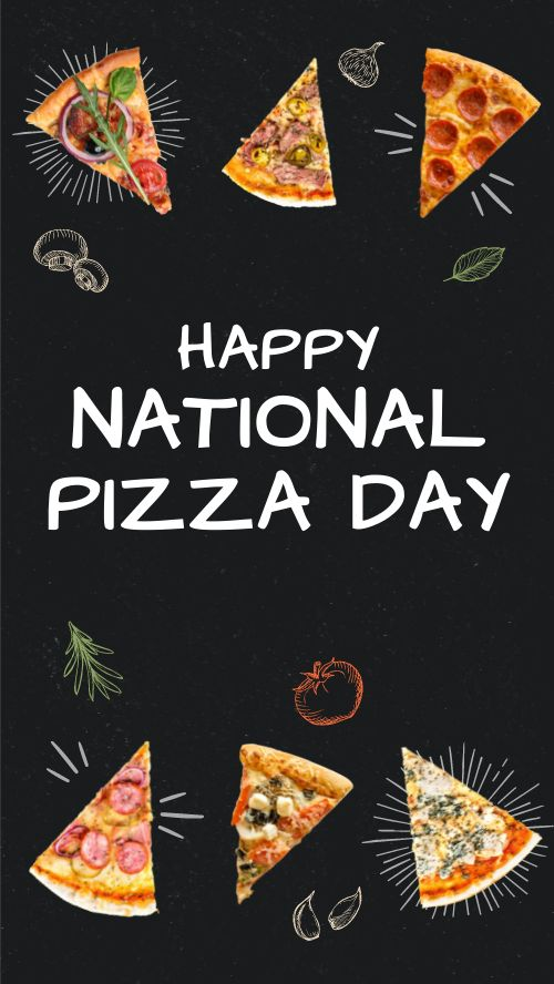 Pizza Day Facebook Story