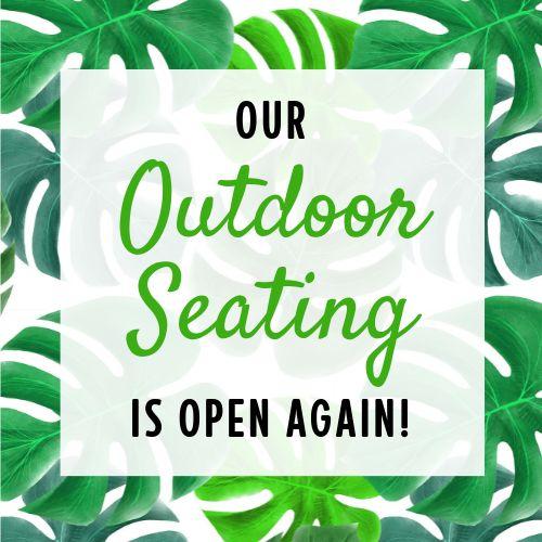 Outdoor Seats Instagram Post