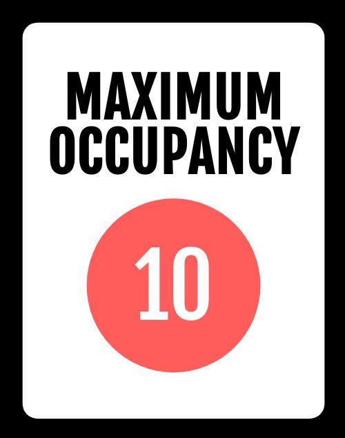 Example Maximum Occupancy Poster