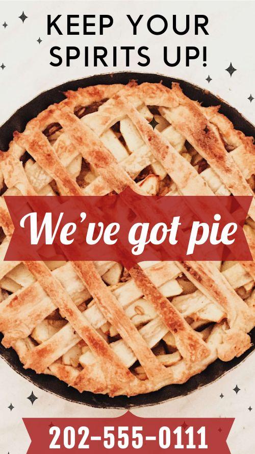 Pie Spirits Facebook Story