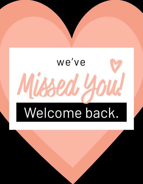 Welcome Back Restaurant Flyer