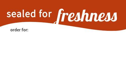 Freshness Food Label