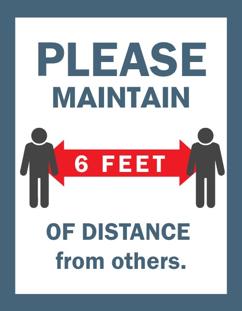 Distance Signage