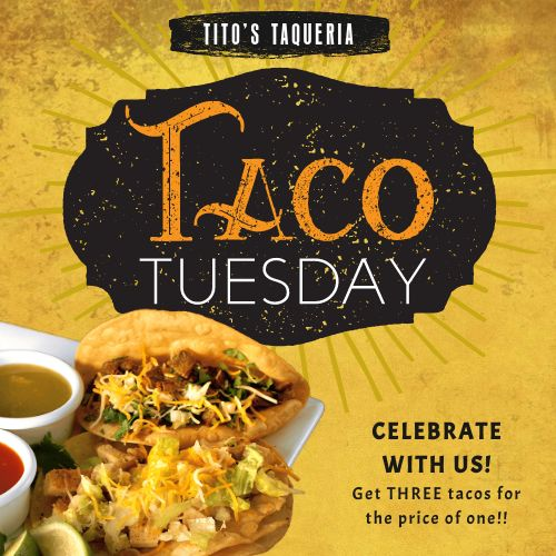Taco Tuesday Instagram Update