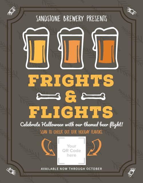 Halloween Brewery Flyer