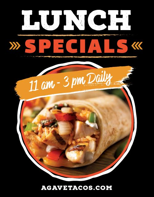 Lunch Specials Announcement