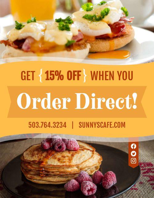 Order Direct Flyer
