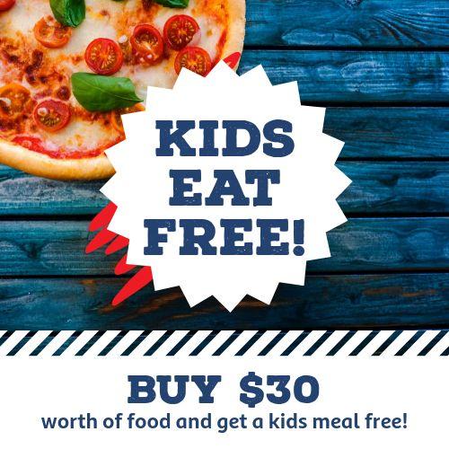Pizza Free Instagram Post