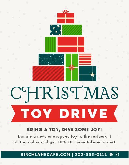 Christmas Toys Flyer