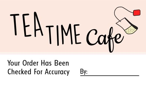 Accuracy Takeout Sticker