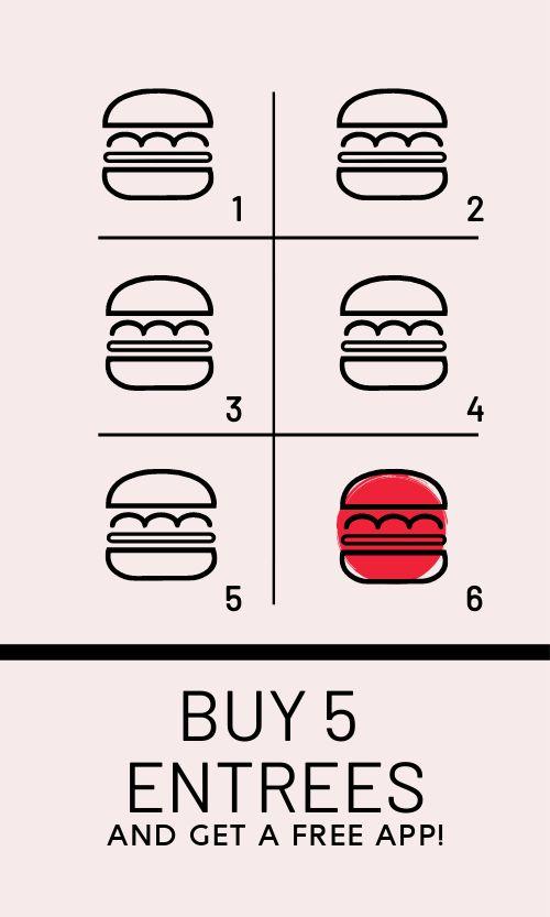 Burger Stamp Card