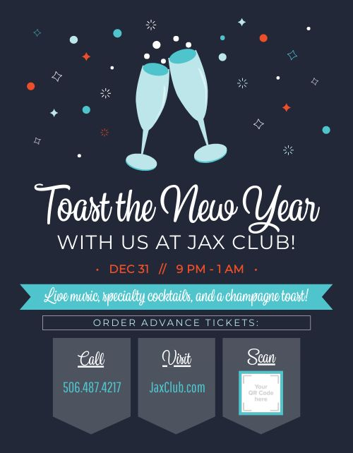 New Years Eve Event Sign