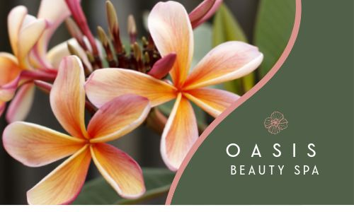 Oasis Spa Business Card