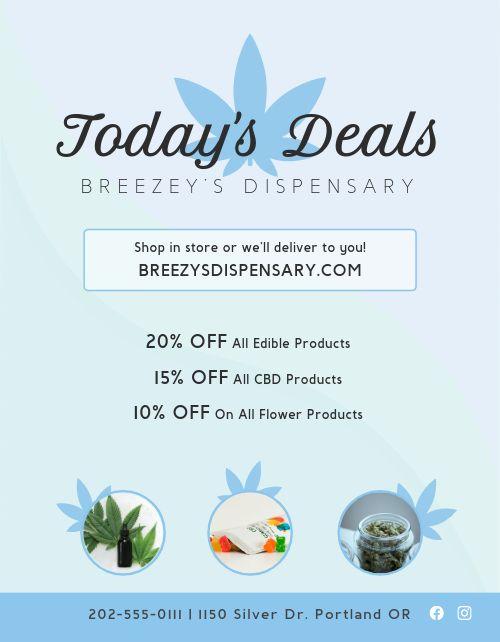 Dispensary Deals Flyer