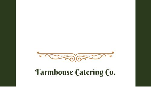 Hot Food Catering Label