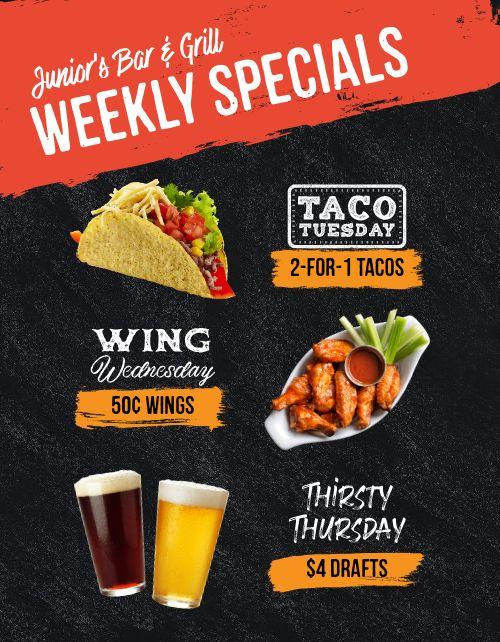 Weekly Specials Promo