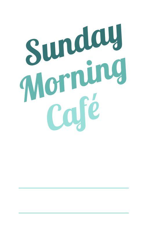 Cafe Logo Label