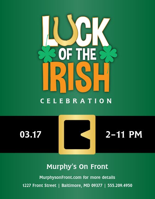 Luck of the Irish Flyer