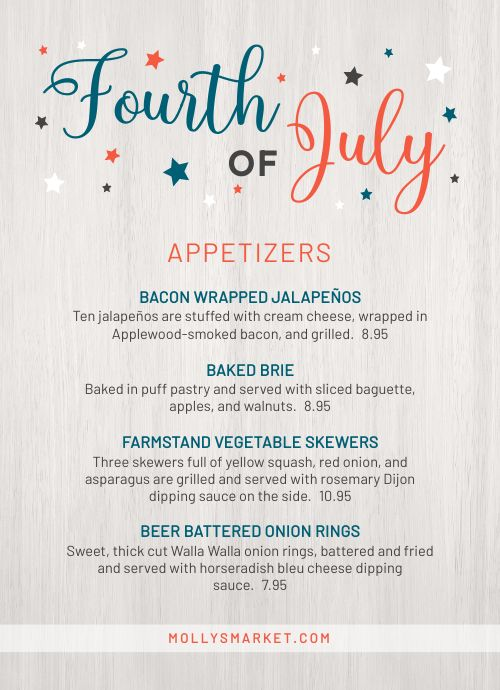 Fourth of July Tabletop Display
