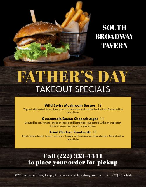 Fathers Day Signage