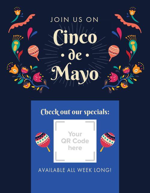 Cinco De Mayo Announcement