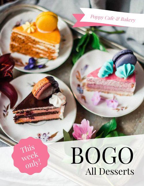 BOGO Desserts Flyer