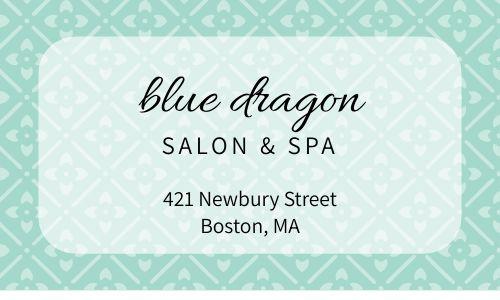 Spa Beauty Business Card