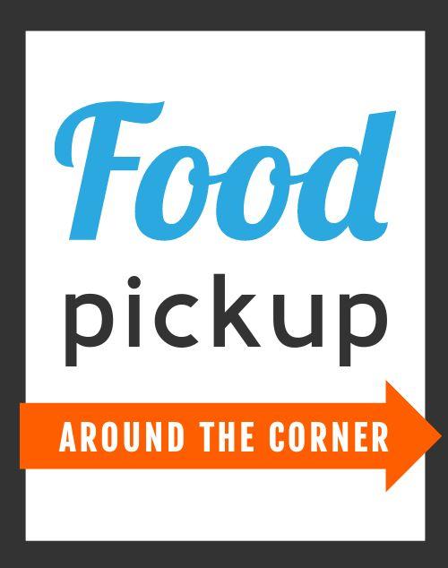 Food Pickup Poster
