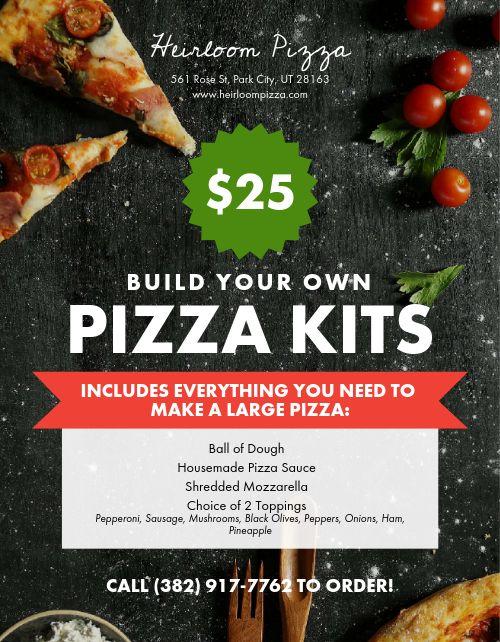 Pizza Kit Signage