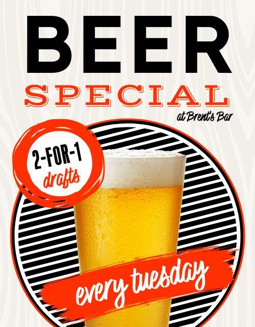 Beer Specials Sign