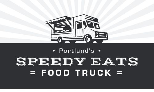 Food Truck Punch Card