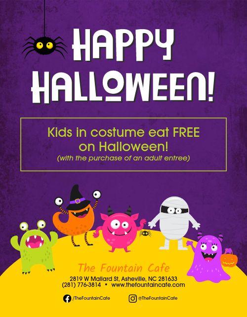 Halloween Costume Flyer