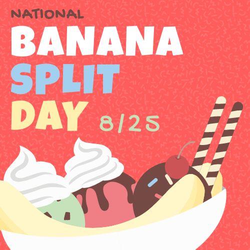 Banana Split Instagram Post