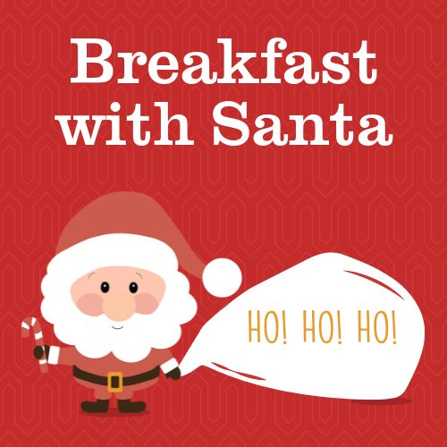 Breakfast With Santa Instagram Post