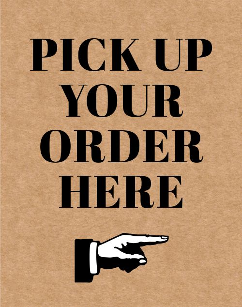 Pickup Here Poster