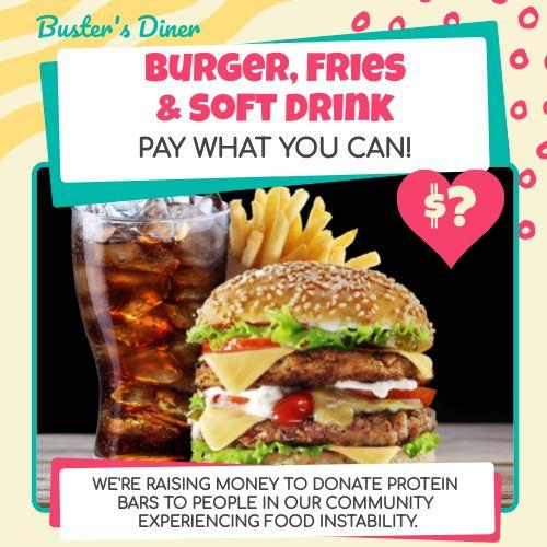 Burger Meal Instagram Post