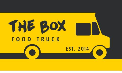 Food Truck Owner Business Card