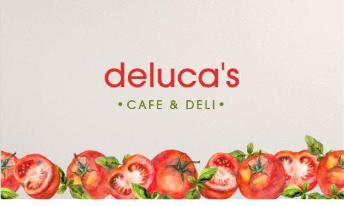 Cafe QR Code Business Card