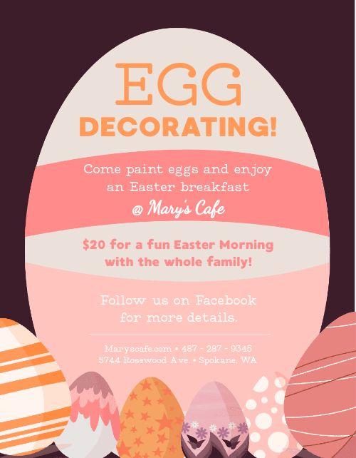 Easter Egg Flyer