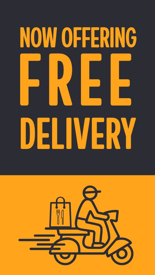 Delivery Facebook Story
