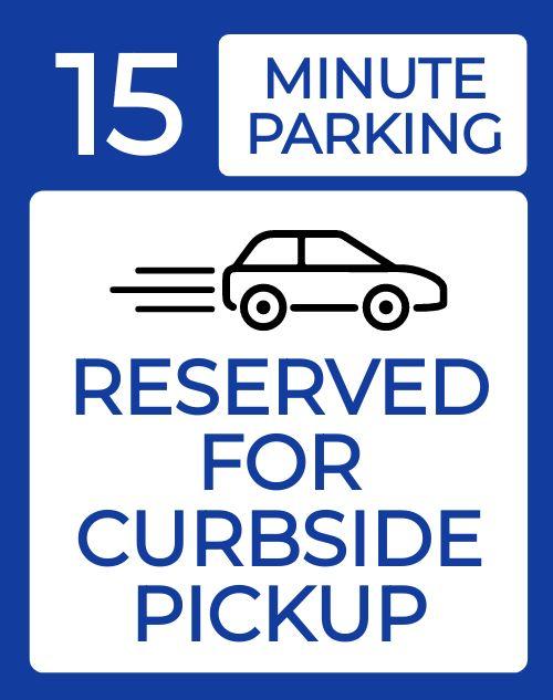 Curbside Pickup Folding Board
