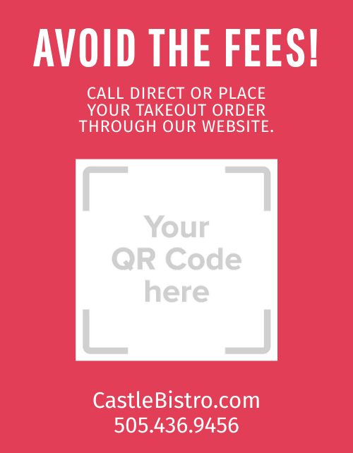 Direct Online Ordering Sign