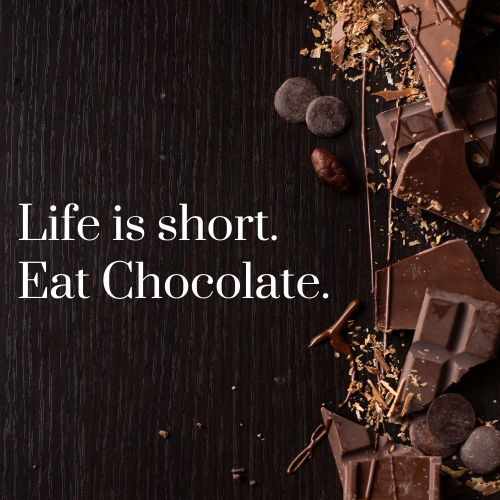 Chocolate Bars Instagram Post