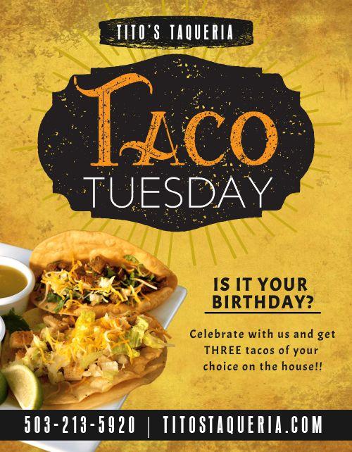 Taco Tuesday Sign