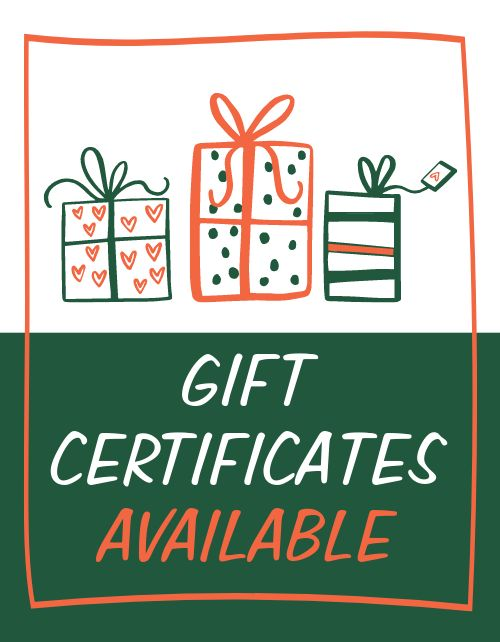 Gift Cards Sign