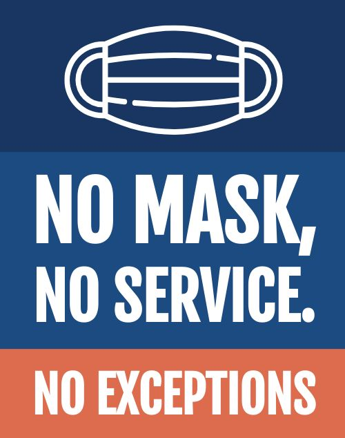 Face Mask Poster