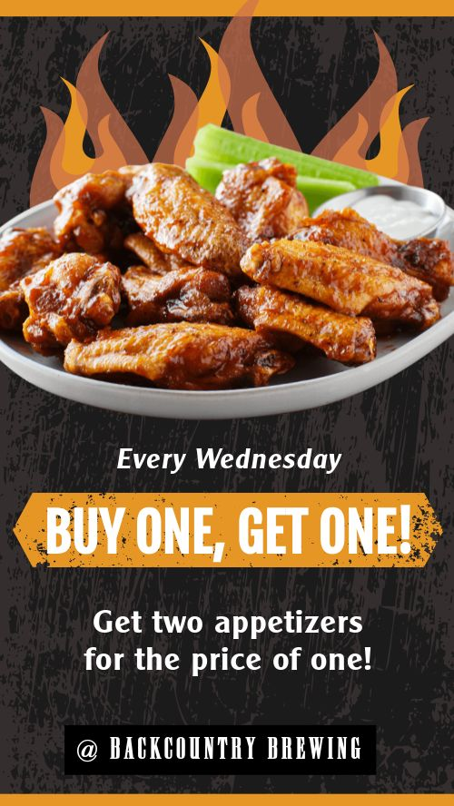 Wings Specials Facebook Story